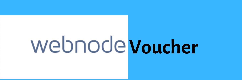 Webnode-voucher